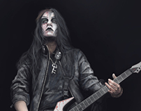 Portrait of Joey Jordisson (Slipknot, Murderdolls) №2