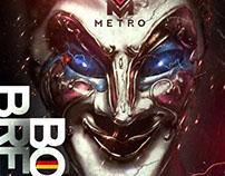 Poster&Gif for METRO nightclub