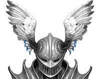 Knight's path