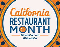 California Restaurant Month - Designer Plate Series