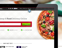 EatNow mobile and desktop site design