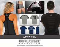 Apparell line for sports supplement company