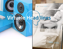 Virtuele Headlines (Branding material made in 2009)