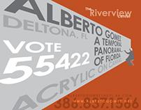 Alberto Gomez - Art Prize card
