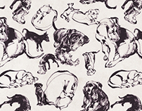 NOTpuppy Wrapping Paper Project