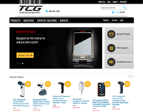 TCG Barcode - Magento e-commerce site design