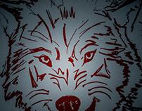 Wolf Sketch- #WacomWED 1