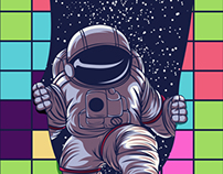 tetris espace