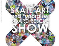 4th Annual Board Rescue Art Show