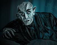"""#WacomWED wk.4 """"Nosferatu"""""""