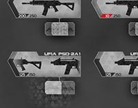 Modern Combat 4: Zero Hour - UI/UX Design