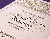 Digitally Printed Wedding Invitations