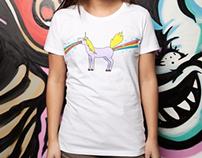 So Full Of Rainbows T-Shirt Design on Threadless.com
