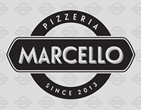 Logo for pizzeria Marcello