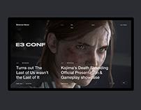 Games Devs Concept