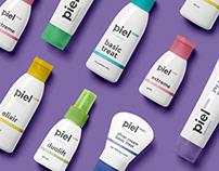 Piel Cosmetics | Branding