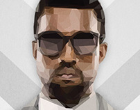 Low-Poly Kanye West