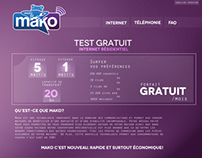 Créations - Startup Mako Communications