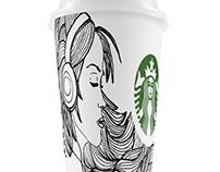 Girl Starbucks