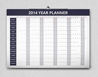 Year Planner 2014 (Free)