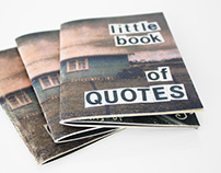 Zine - Little Book of Quotes