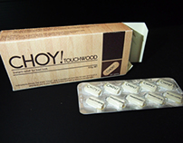 CHOY! Touchwood Packaging