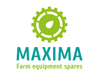 "Identity for ""MAXIMA"" farm equipment spares retailer"
