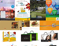 Ads, Poster, Bags, Brochure and etc.