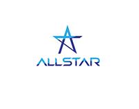 Logo for Allstar sports club.