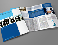 Company Brochure Bi-Fold Template Vol.2