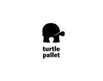 Logo design for turtle pallet