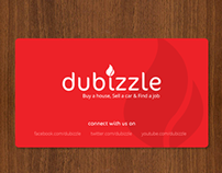 Concept logo and website retouch for Dubizzle.