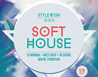 Soft House Flyer Template