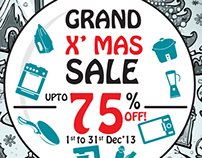 Poppat Jamals - Christmas Sale 2013