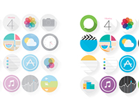My iOS7 Icons