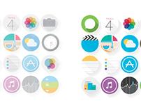 My iOS7 Icons