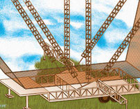 Circus project Truck trapeze