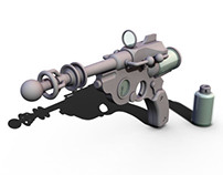 Steampunk Raypistol