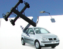 VW Polo - Telegraph Pole