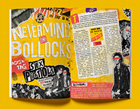Sex Pistols Magazine Spread
