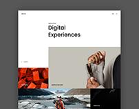 Antro - Portfolio Website