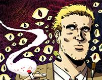 John Constantine. Illustration.