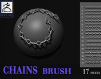 Chains brush