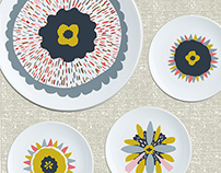 Burst of Color Dish Set