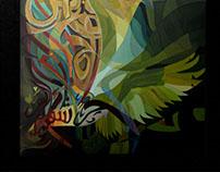 جدارية الحر الأشقر