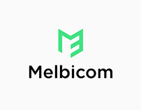 Melbicom / Logo redesign
