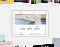 Visualmaniac digital bookstore — Responsive website