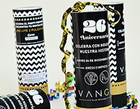 Vango Club | Party Popper Invitation