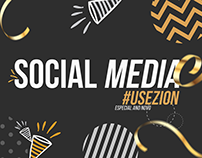SOCIAL MEDIA ||| #USEZION ESPECIAL DE ANO NOVO