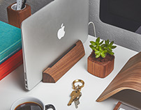 The Grovemade MacBook Dock